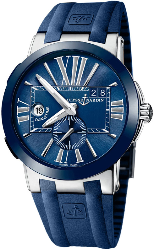 Ulysse Nardin 243-00-3/42 Executive Dual Time 43mm